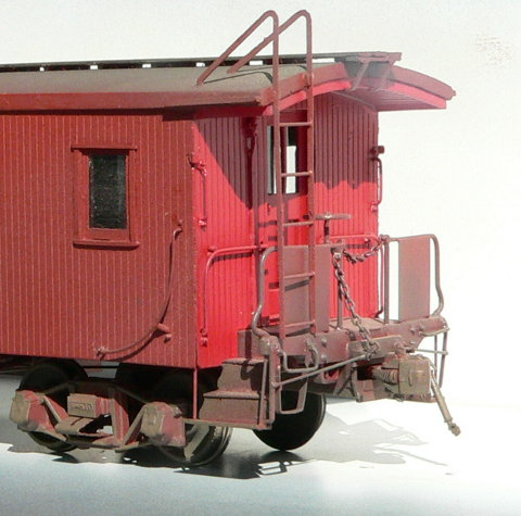 CPR Wooden Caboose