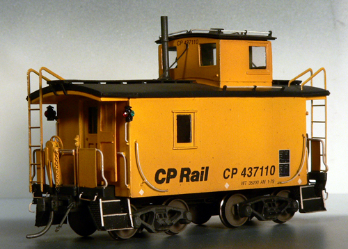 CPR Shorty Caboose